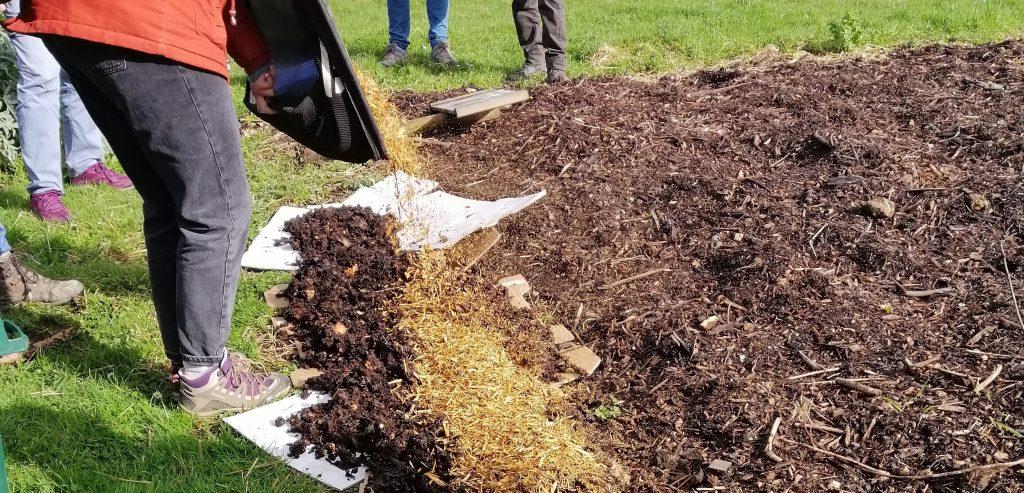 atelier jardinage creation jardin en lasagne