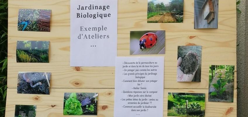 liste atelier jardinage biologique