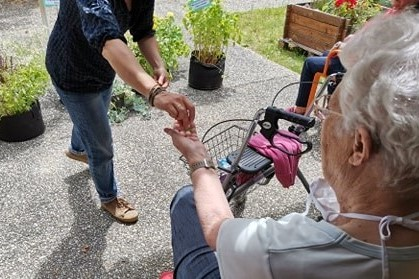 atelier jardinag en ehpad