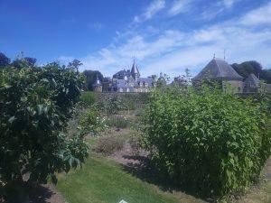 chateau bourbansais et jardin